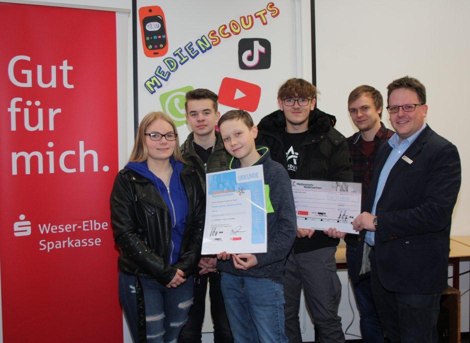 """Oberschule Langen – Preisträger im Projekt """"Medienscouts Niedersachsen"""""""